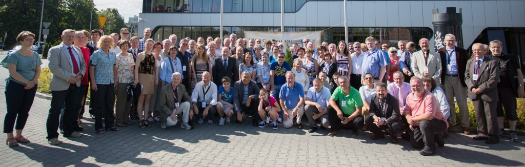 ICCF Congress 2013 participants in front of the hotel