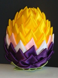 Jajko wielkanocne zrobione przez Ewę ...