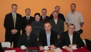 Uczestnicy zebrania KSzGK - Sielpia k/Kielc