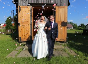 Bliżyn - kaplica św.Zofii - ślub Moni i Józka