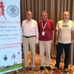 World Champions in Cardiff - Fritz, Pertti, Marjan
